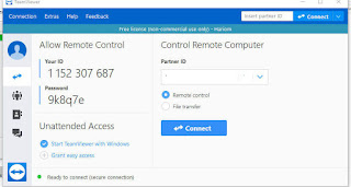 Get Remote ID and Password