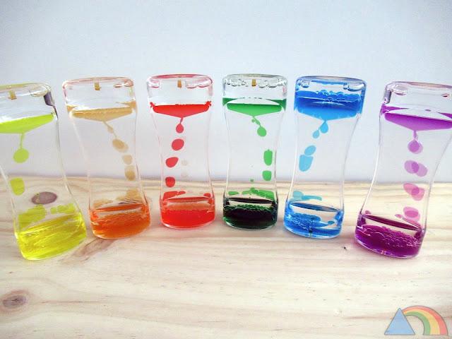 Cascadas de colores de Tickit