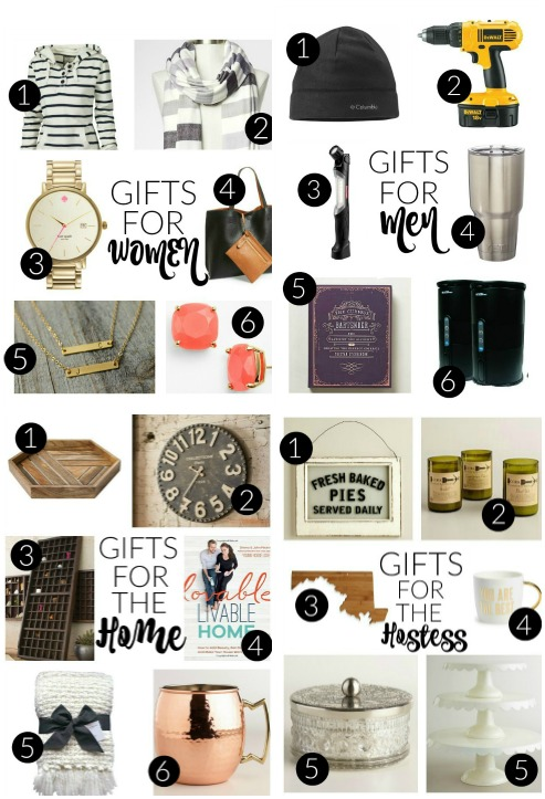 Holiday gift guide for men, women, the home and hostess