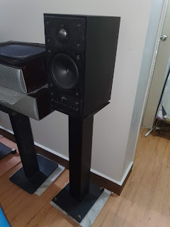 Celestion 700 Bookselves speaker c/w stand (Used) Celestion2%2B%25281%2529
