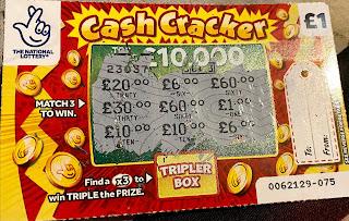 £1 Cash Cracker Scratchcard