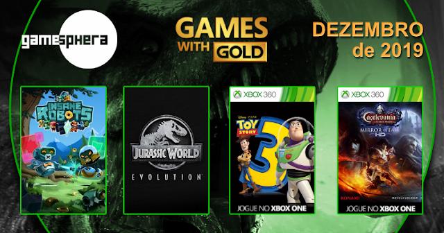 Games With Gold - Dezembro de 2019