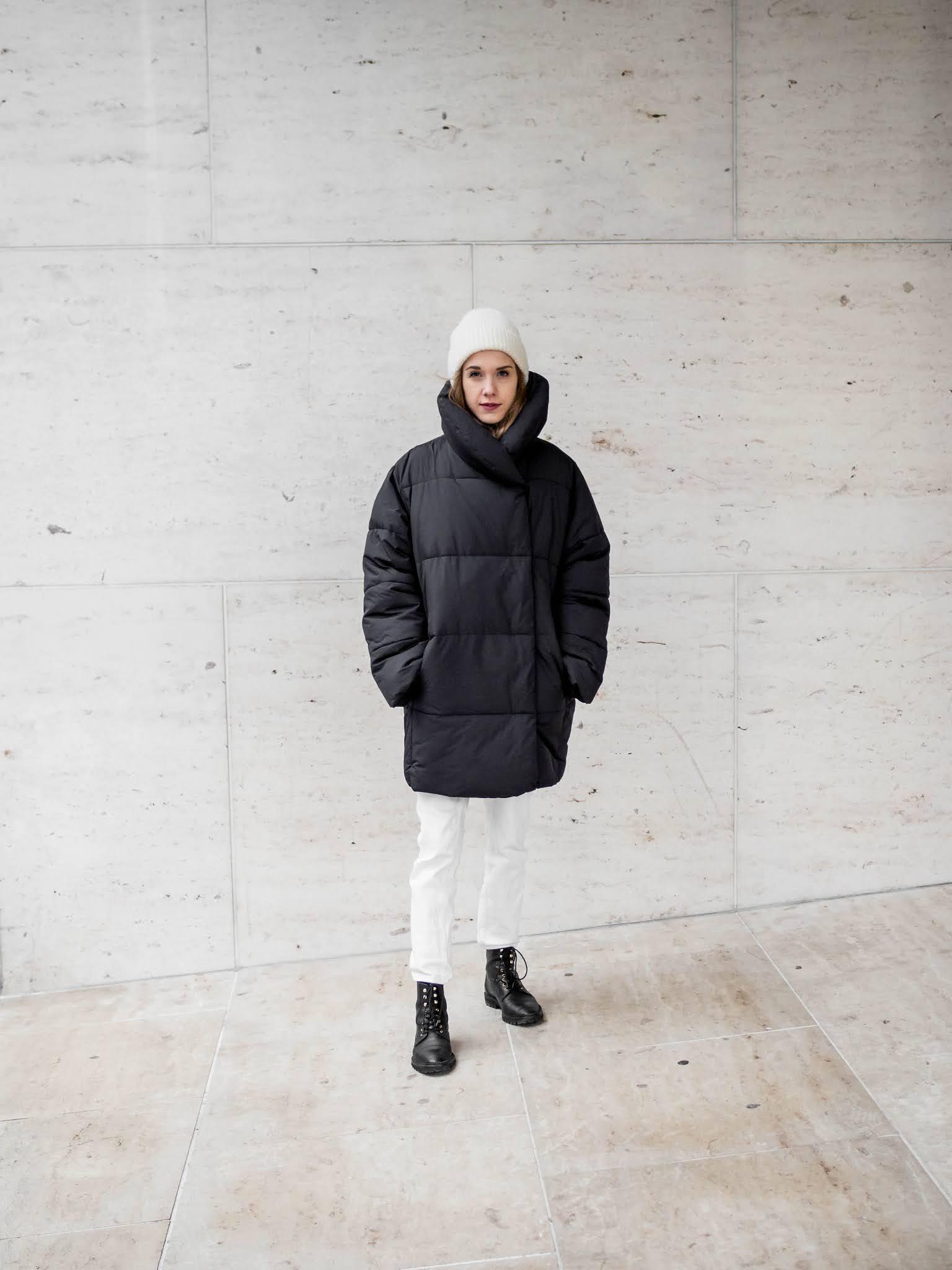 Muhkea toppatakki // Big puffer coat