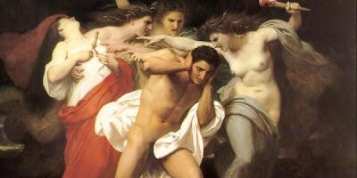 Resultado de imagen de las eumenides