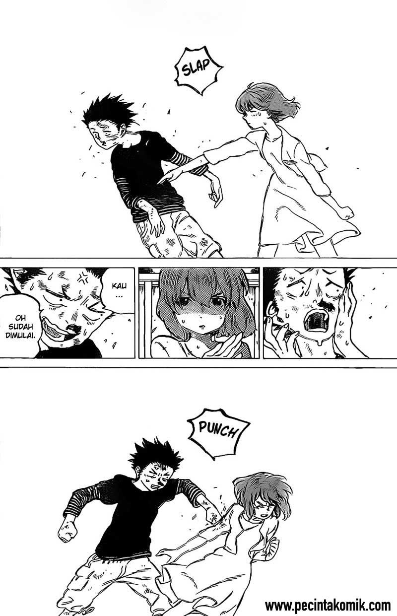 Koe no Katachi Chapter 04-18