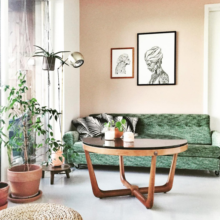 A Colourful Retro Funkis Home In Norway My Scandinavian Home