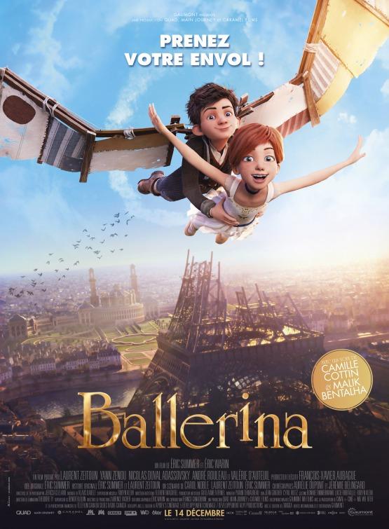 Eric Summer, Éric Warin, Elle Fanning, Dane DeHaan, Maddie Ziegler, Ballerina (2016), CINE ΣΕΡΡΕΣ,