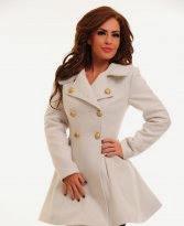Palton Dama Alb