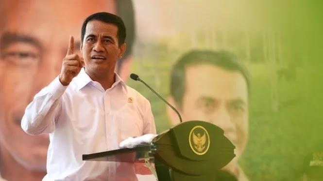 Menteri Pertanian (Mentan), Andi Amran Sulaiman