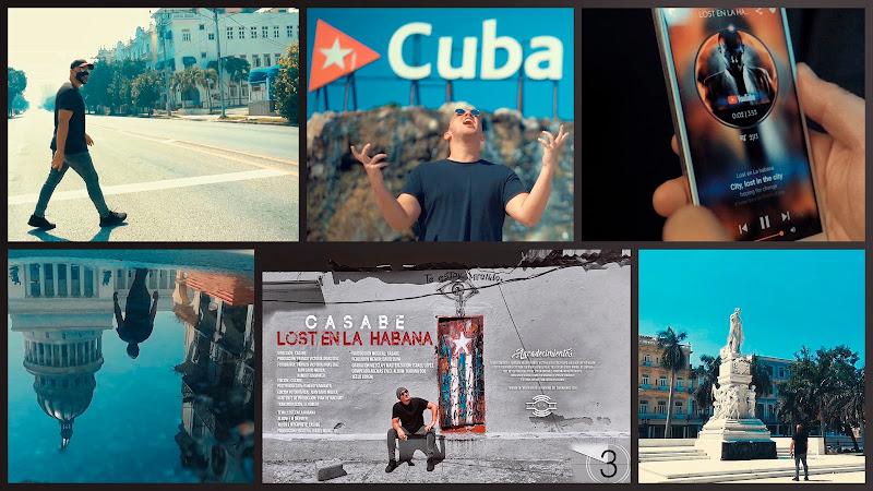 Casabe - ¨Lost en La Habana¨ - Videoclip - Dirección: Gabriel Reyes. Portal Del Vídeo Clip Cubano. Música electrónica cubana. Cuba.
