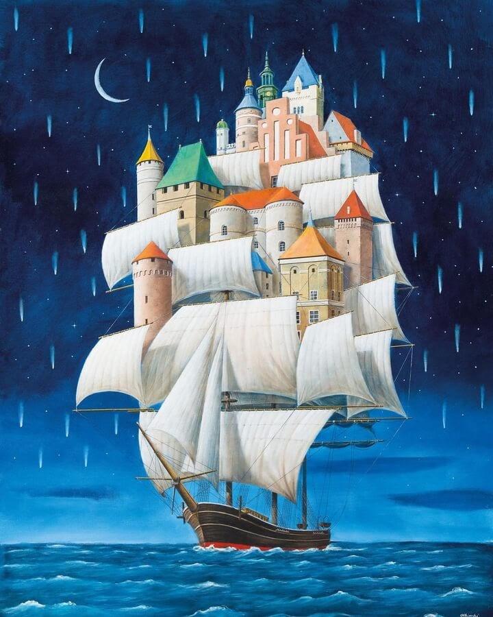 06-Houseboat-Rafal-Olbinski-www-designstack-co