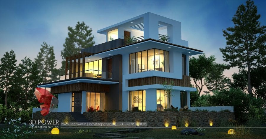 Kerala Home Front Elevation Pictures : Ultra modern home designs d exterior