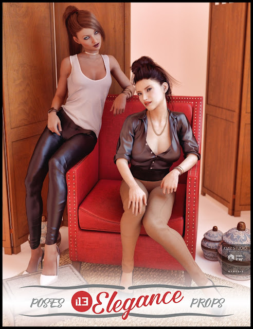 i13 Elegance Pose Collection and Props