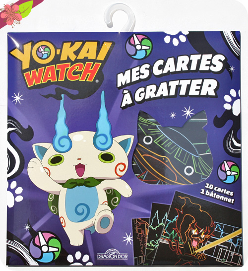 Mes Cartes à gratter - Yo-kai Watch - Les livres du Dragon d'Or