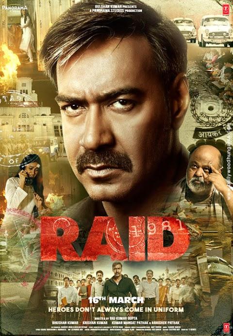 Download Raid (2021) Tamil Full Movie   Ajay Devgn, Ileana D'Cruz