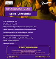 Open Recruitment at PT. Satya Mandiri Motors Surabaya September 2021