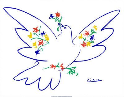 """Πάμπλο Πικάσο - """"Το περιστέρι της Ειρήνης"""""""