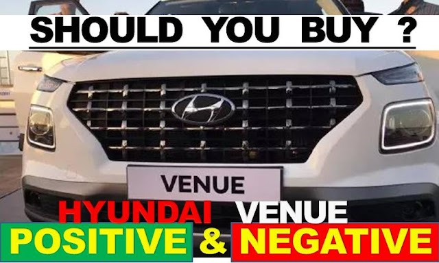 Hyundai  Venue Pros and Cons In Hindi | Hyundai Venue Review In Hindi