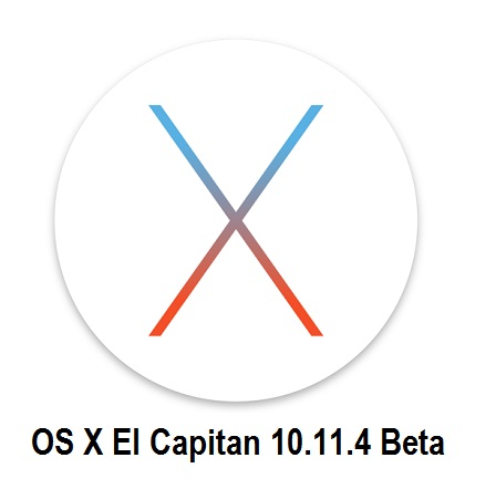 Mac OS X El Capitan 10.11.4 Beta