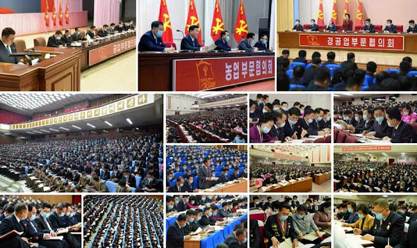 (2) Inter-sector Consultative Meetings of Eighth WPK Congress, January 11, 2021