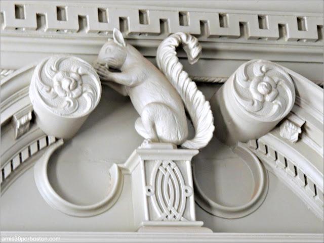 Decoraciones con Forma de Ardilla de la Mansión de John Brown, Providence