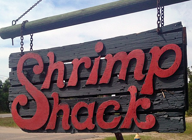Shrimp Shack, South Carolina, Southern Comfort Food