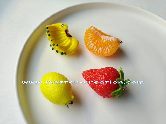 mini fruit pendant