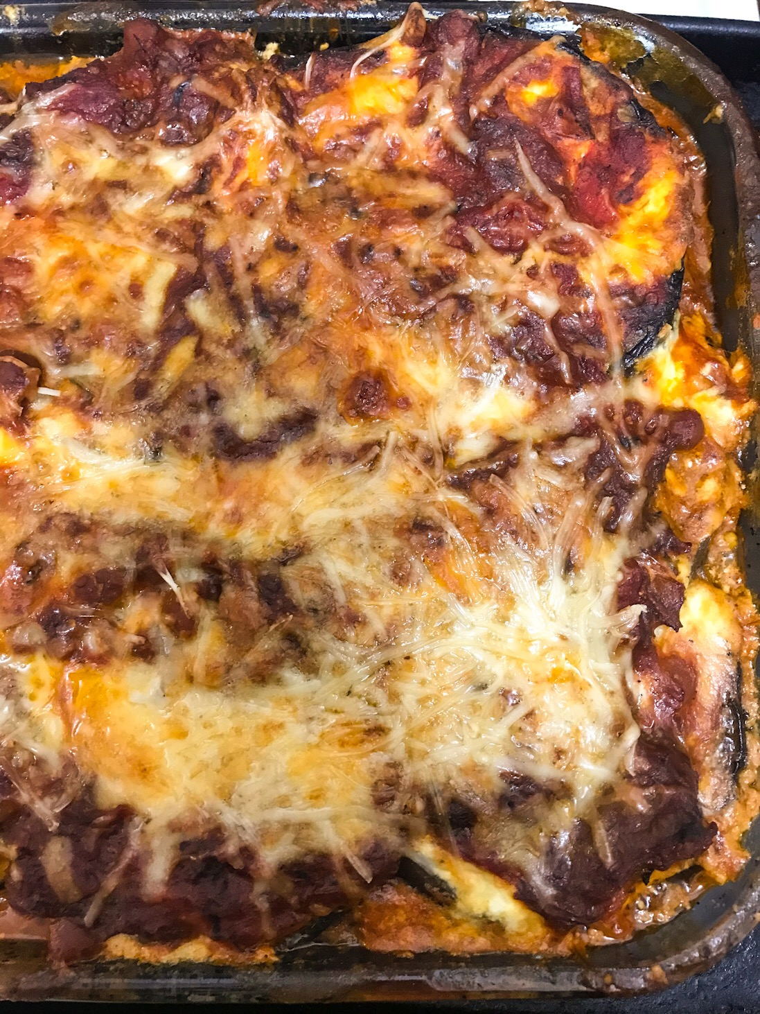 Use-Whatcha-Got Eggplant Lasagna