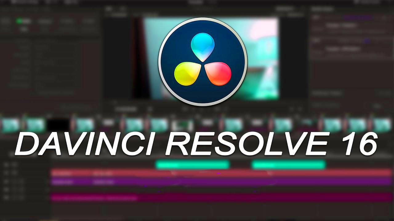 Blackmagic Design DaVinci Resolve Studio 16 Free Download