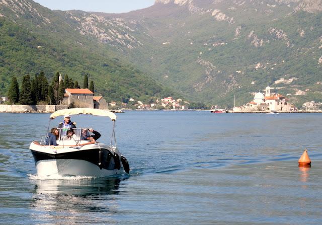 Boat Perast, Montenegro