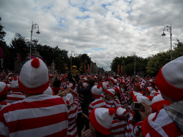Dublin City Spectacular - Where's Wally World Record Attempt