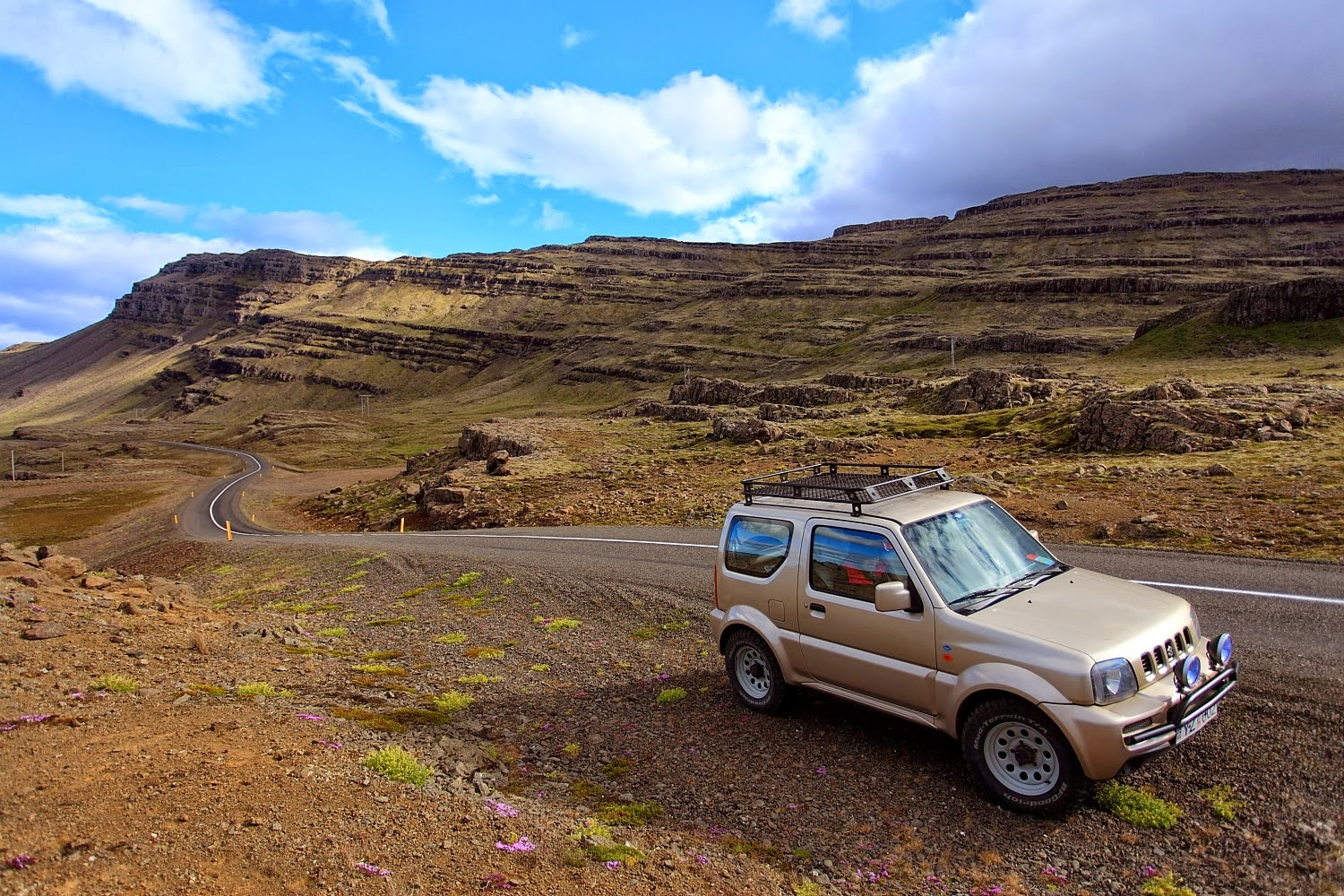 Road Trip in Iceland in a Renault Duster images wallpaper