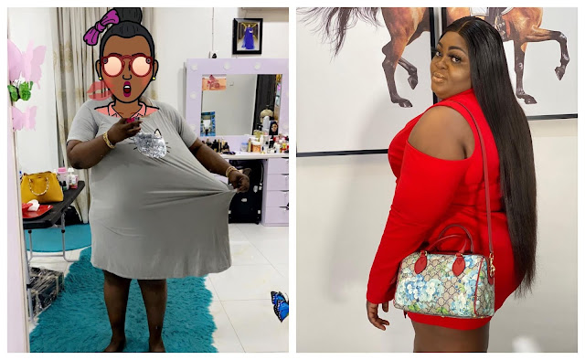 Eniola Badmus announces that she has lost 25kg in weight