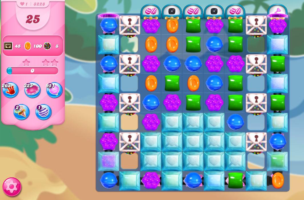 Candy Crush Saga level 8228