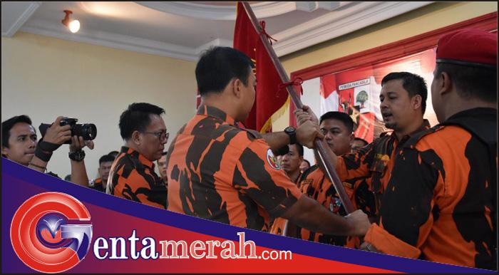 MPC Pemuda Pancasila Metro Dilantik, Pairin Beri Dukungan Penuh