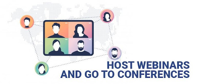 Host Webinars and Conferences
