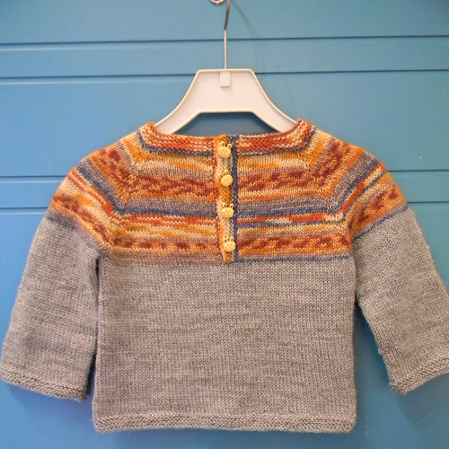 Sweet Baby Sweater - Free Pattern