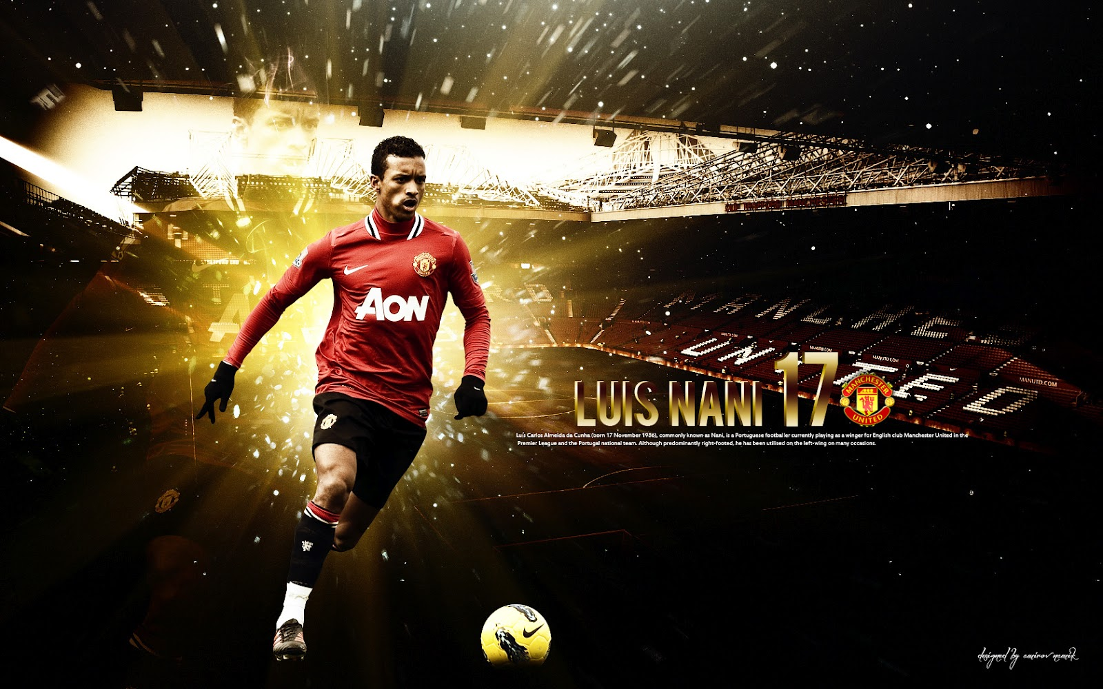 Arsenal Fc 3d Wallpapers All Wallpapers Nani New Hd Wallpapers 2012