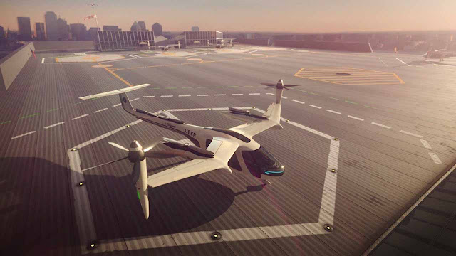 NASA is working with Uber on its flying taxi project: The tests will start in Los Angeles in 2020