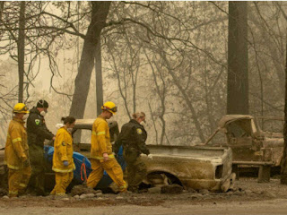 California fire mostly contained, death toll rises to 84