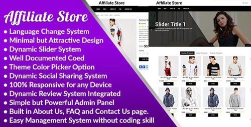 CodeCanyon - Affiliate Store v1.0 Warez E-Ticaret Scripti
