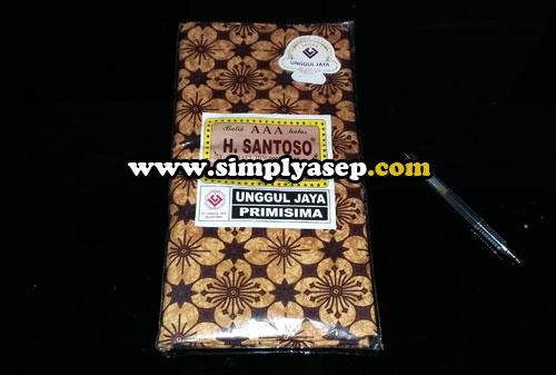 BATIK :  Inilah bahan batik hasil buruan kami menjelajah Pasar Beringharjo. Harga kain ini 40 ribu rupiah, Harga pas  Foto Asep Haryono