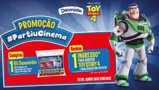 Cadastrar Promoção Danoninho Comprou Ganhou Ingresso Toy Story 4 #Partiucinema