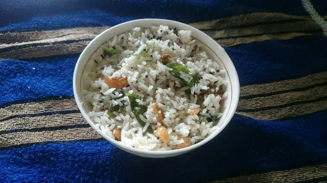 coconut rice prasadam