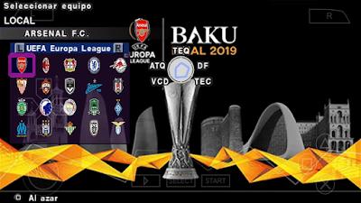 eFootball PES 2020 PPSPP Android Mod Season 2019/2020