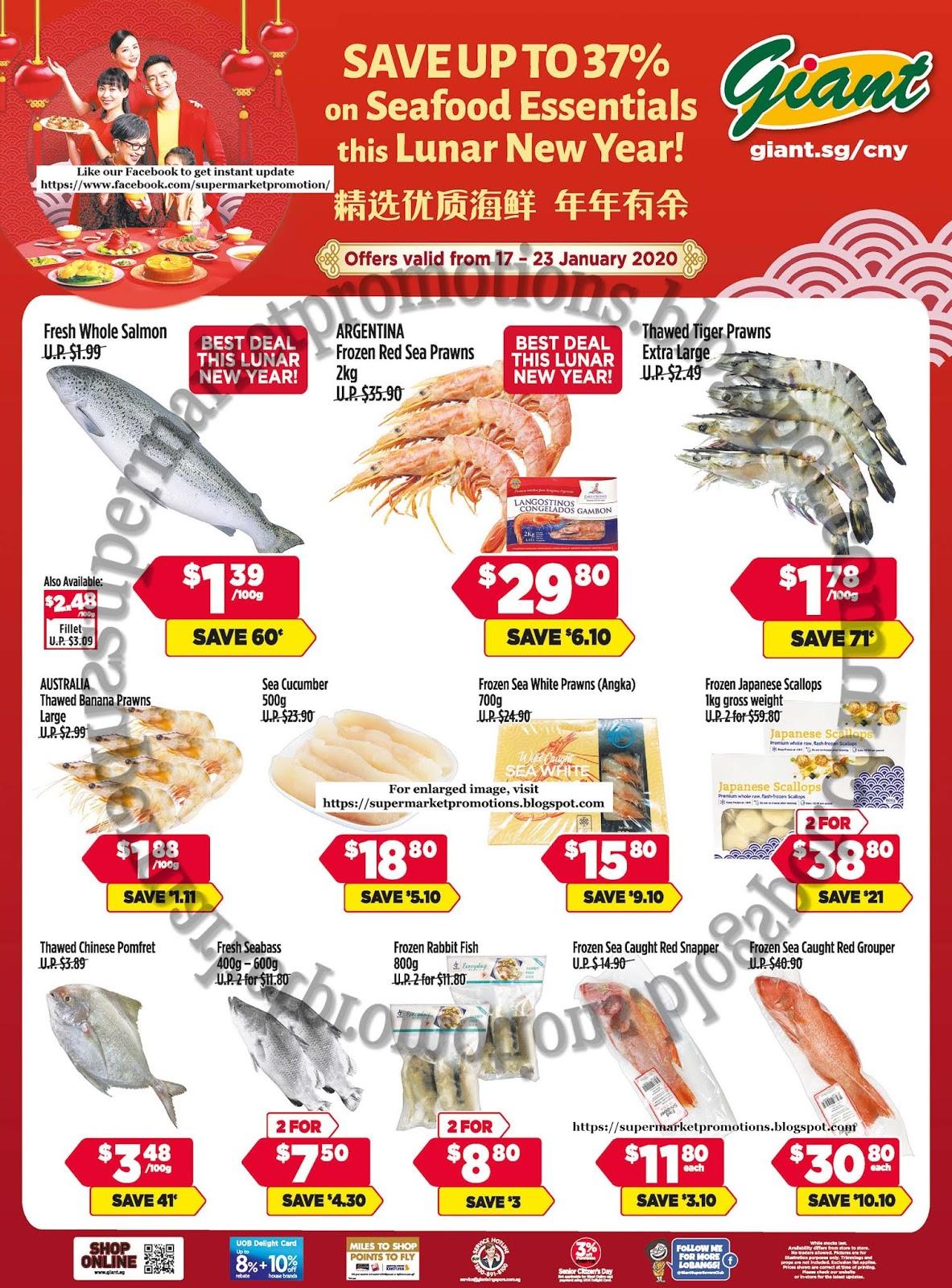 Giant CNY Seafood Promotion 17 - 23 January 2020 ...