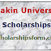 Deakin University Scholarships 2017 -18 UG/PG International Programs & Scholarship