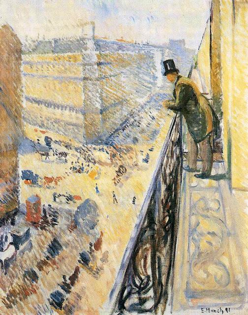 Эдвард Мунк - Улица Лафайет. 1891