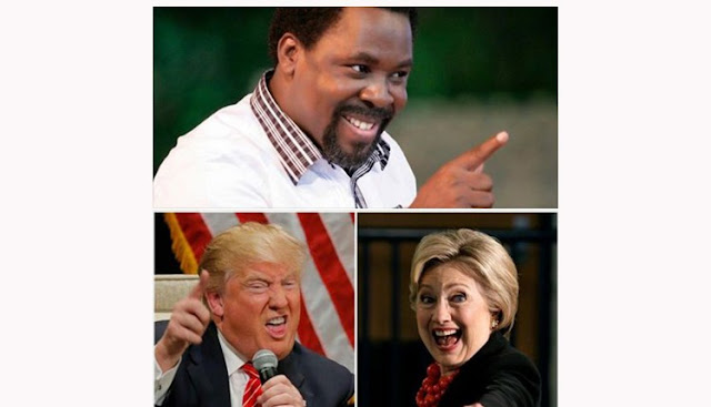 TB JOSHUA'S PROPHECY IS TRUE – HELEN BAKER REVEALS SHOCKING NEW DETAILS ABOUT DONALD TRUMP AND HILLARY CLINTON