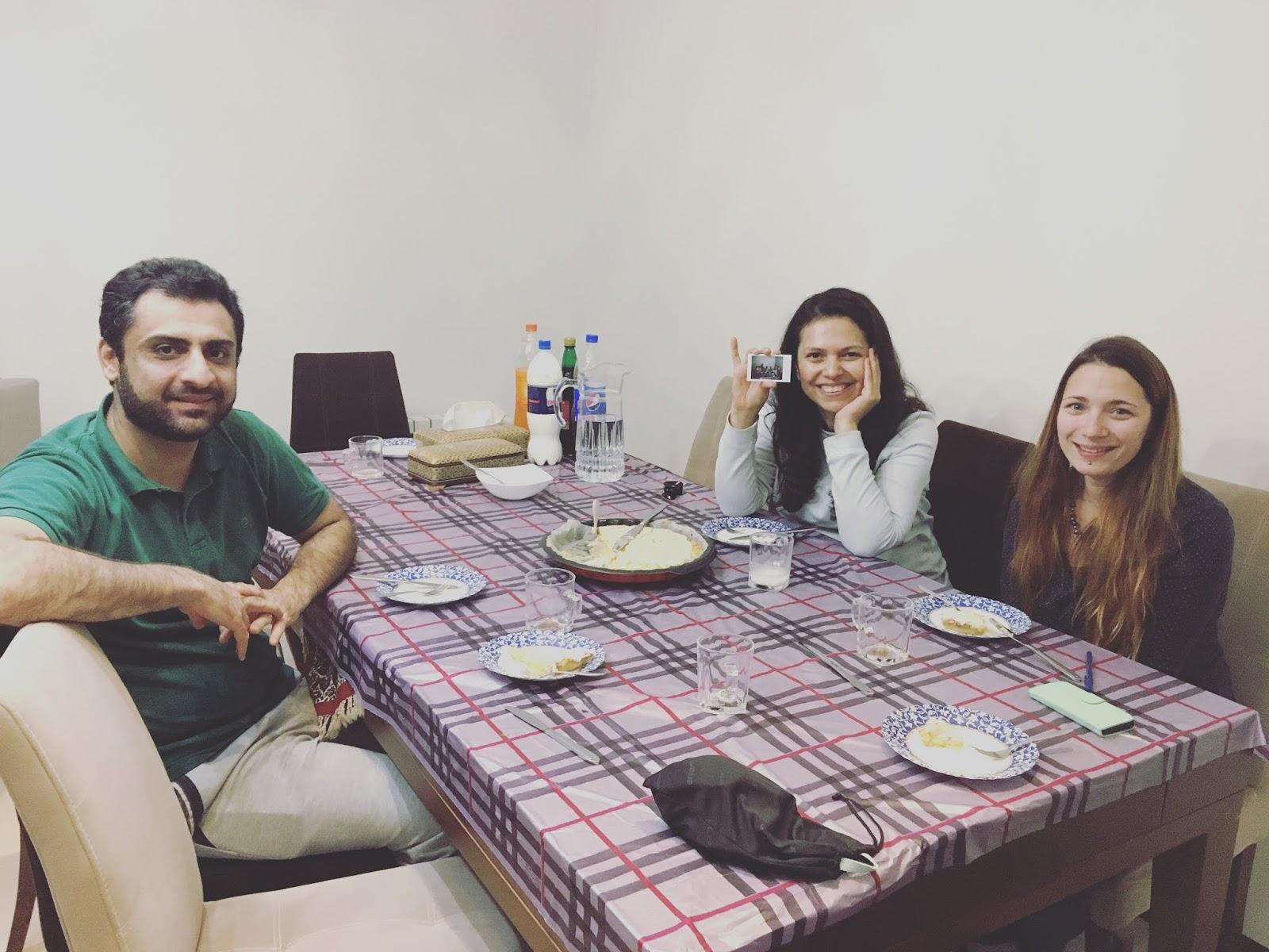 Shabnam & Ali (IR), IR